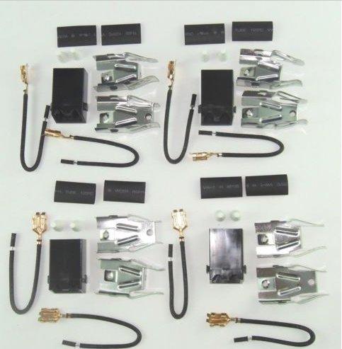 USA Premium Store 330031 Range Burner Receptacle Kit 4 Pack