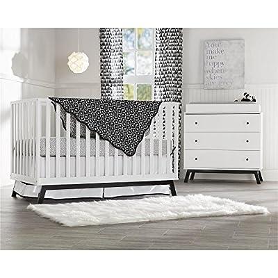 Little Seeds Rowan Valley Lark Urban 3 Drawer Dresser, White: Baby