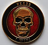 #6: Heads or Tails Challenge Coin
