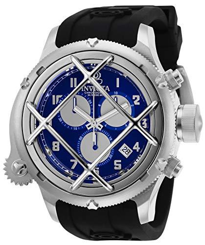 Invicta Russian Diver Chronograph Quartz Blue Dial Men's Watch 27724