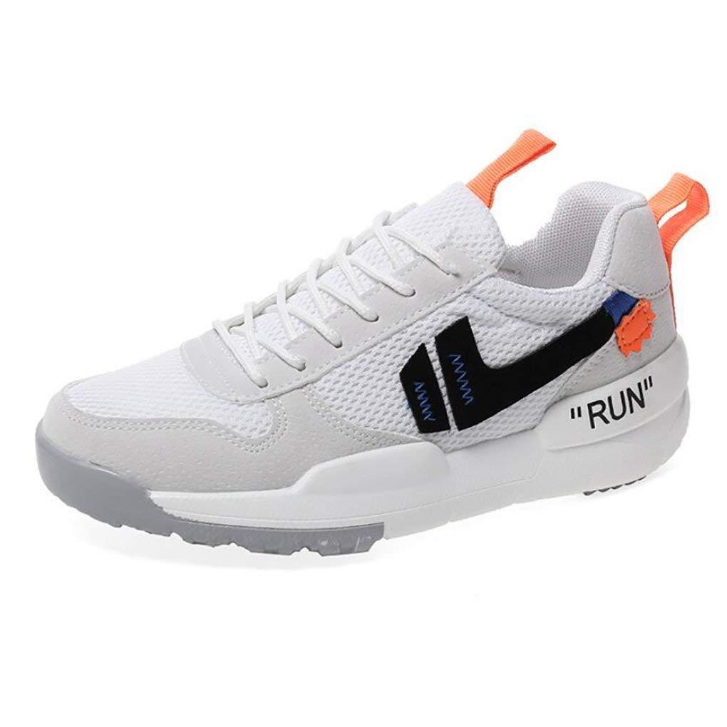 Paar-Sport-Schuhe Sommer und Herbst Koreanische Version Schuhe Tide Mesh Atmungsaktive Laufschuhe Frauen Mode Wilden Studenten Freizeitschuhe (Farbe   1 Größe   42) (Farbe   1 Größe   41)
