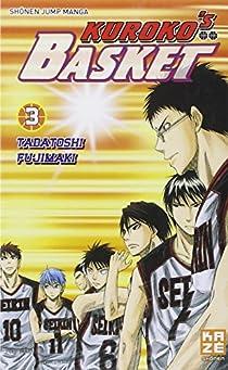 Kuroko's Basket, tome 3 par Fujimaki