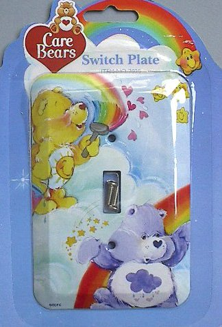(Care Bears Single Switch Plate switchplate)