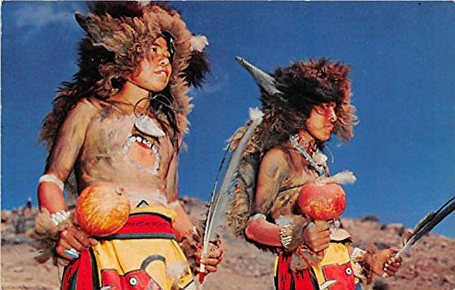 Jemez Buffalo Dancers Wearing unique costumes, Ancient tribal drums]()