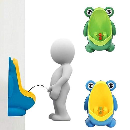 Urinal f/ür Jungen zum T/öpfchentraining niedlicher Wal Urinal f/ür T/öpfchentrainer Blauwal