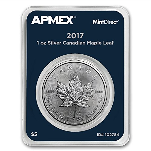 2017 CA Canada 1 oz Silver Maple Leaf (APMEX MintDirect Single) 1 (Silver Maple Leaf Bullion)