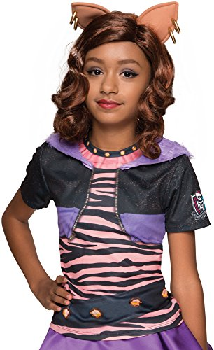 Rubie's Costume Monster High Clawdeen Wolf Photo Real Costume Top Costume, Standard]()