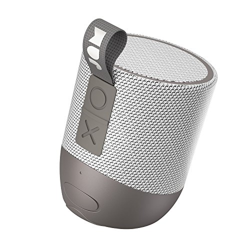 Double Chill, Portable Bluetooth Speaker | 100 ft. Range, Waterproof, 12 Hour Playtime, Dust-Proof, Drop-Proof IP67 Rating | Built-in Speakerphone, Aux-In Port, USB Charging | JAM Audio Gray (Double Speaker)
