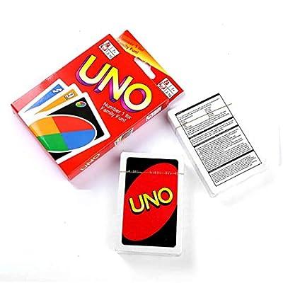Bulex Mattel UNO: Classic UNO Card Game, Fun Card Game: Sports & Outdoors