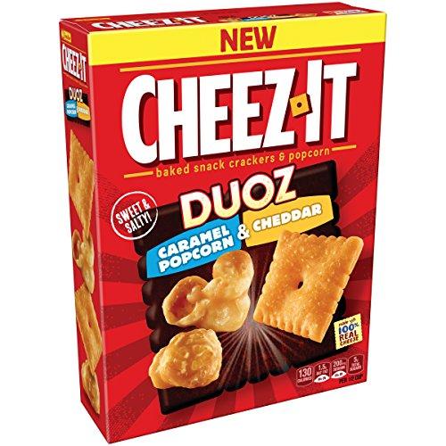 Cheez-It Duoz Caramel Popcorn & Cheddar Crackers, 8.7 Ounce