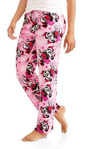 Disney Womens Minnie Mouse Plush Minky Sleep or Lounge Pants (L 12/14)