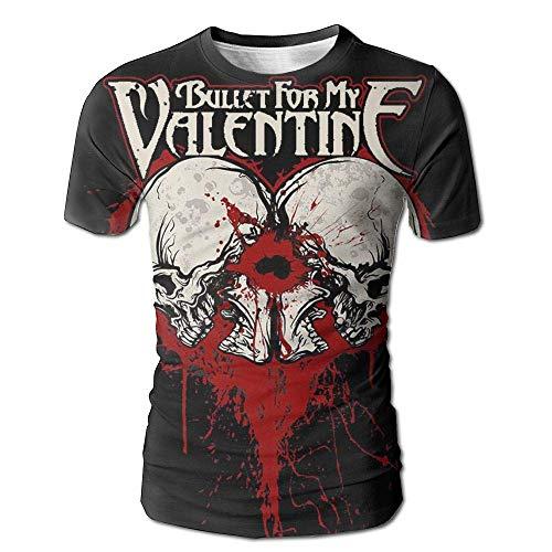 Mens Tshirt-Classic Bullet for My Valentine Logo White