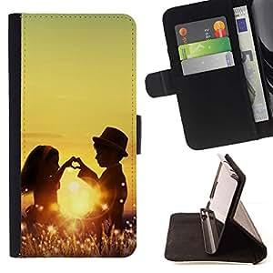 Momo Phone Case / Flip Funda de Cuero Case Cover - Ni?os Ni?os Amor Romance Ni?ez Sun - Samsung Galaxy J3 GSM-J300