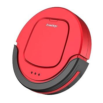 YongBe Robot Aspirador, Aspirador Robótico con Autocargador Sensor De Caída, Cubo Anti-Derrames 0.4L, 1200Pa Alta Succión para Piel De Mascota Y Alergenos ...