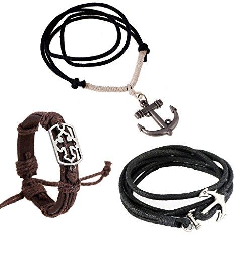 vintage anchor necklace - 9