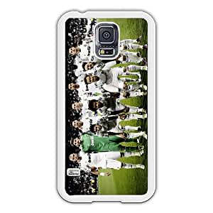 Real Madrid Football Club member image design Cartoon Collection Phone Case Cover Gift Hard shell (For Samsung Galaxy S5 I9600, White Phone Case)