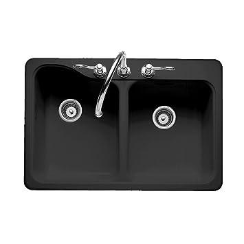 american standard 7145 804 178 silhouette 33 by 22 inch double bowl self american standard 7145 804 178 silhouette 33 by 22 inch double      rh   amazon com