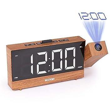 Despertadores Digitales Proyectores Radio Despertador Reloj de ...