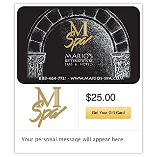Mario's International Spa's & Hotels Gift Cards - E-mail Delivery (B00MV9HA06) | Amazon Products