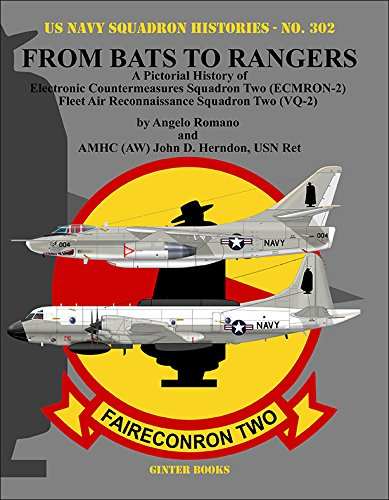 - From Bats to Rangers: A Pictorial History of Electronic Countermeasures Squadron Two (ECMRON-2) Fleet Air Reconnaissance Squadron Two (VQ-2) (U.s. Navy Squadron Histories)
