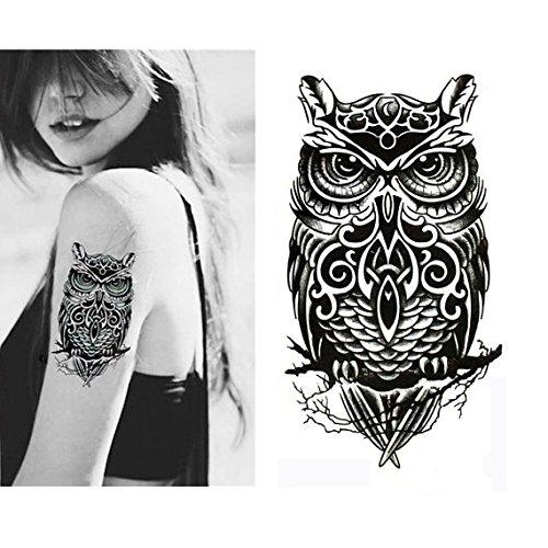 Large non toxic temporary tattoos set of 6 fake tattoos for Fake koi fish
