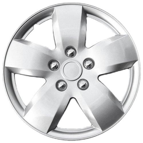 """OxGord Single 16"""" Universal Wheel Cover, 2007-2008 Nissan Altima Replica Hubcap"""