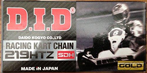 - Go Kart Chain SDH Non-O-Ring 219 HTZ 114 Link KT100 Tag