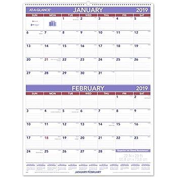 amazon com at a glance 3 month wall calendar january 2018