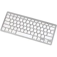 Manhattan 177887 Bluetooth Mini Tablet Keyboard White/Silver