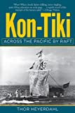 Front cover for the book Kon-Tiki: Across the Pacific in a Raft by Thor Heyerdahl