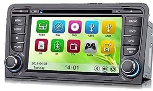 mgnav mg7683a Radio de coche Audi A3Multi Media Sistema de navegación (DVD, BT, USB, SD, GPS)