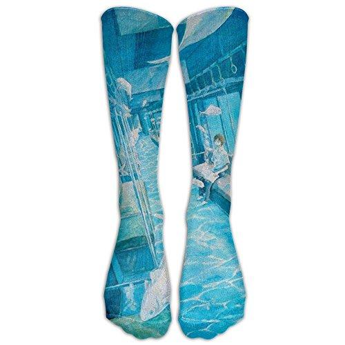 sion Socks Long Socks Athletic Sports Socks For Running Fitne Basketball Volleyball (Hockey Sham)