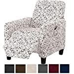 Great Bay Home Form Fit, Slip Resistant, Stylish Furniture Shield/Protector Featuring Velvet Plush Fabric. Gale Collection Strapless Slipcover by Brand.