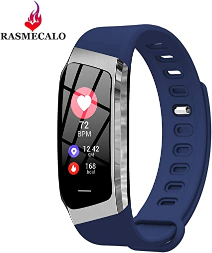 Amazon.com: RASMECALO 2019 Version E18 - Reloj inteligente ...