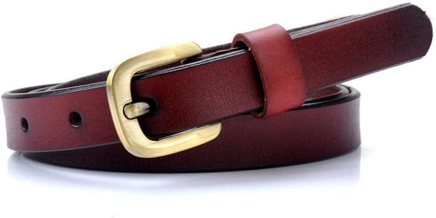 DYCHUN Cinturón Mujer Cinturones Cinturón para Mujer Cuero Genuino ...