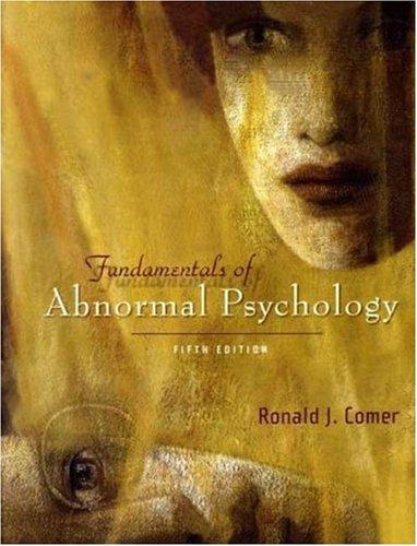 Fundamentals of Abnormal Psychology & CD-ROM