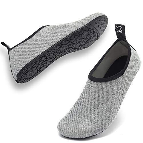 VIFUUR Water Sports Unisex/Kids Shoes Grey/Silver - 12.5-13 W US/ 11-11.5 M US (44-45)