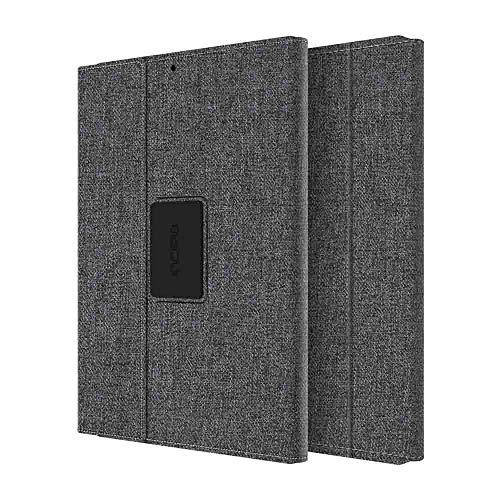 Incipio Carnaby iPad Pro 10.5 (2017) Folio Case [Esquire Series] with Co-Molded Design and Ultra-Soft Cotton Finish for iPad Pro 10.5 (2017) - Gray