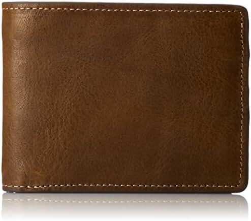 J.Fold Men's Torrent Slim-Fold Wallet