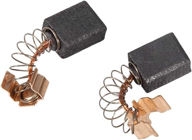 Yctze Cepillo de carb/ón ABS 2 piezas Juego de escobillas de carb/ón del motor de repuesto para modelos 191962-4
