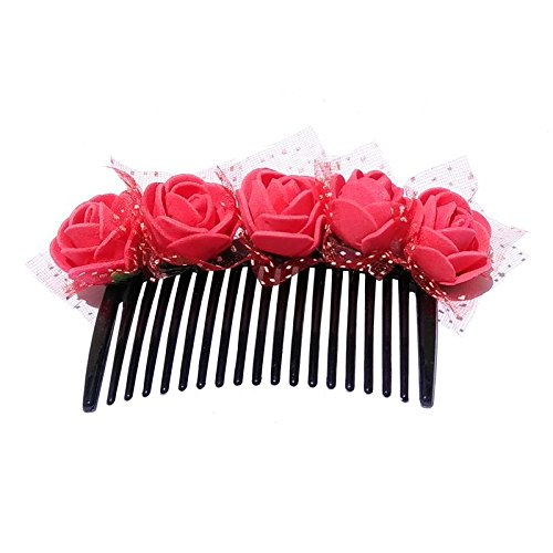 959925f1c Floral Banana Clip & Fancy Foam Sheet and Rubber Sheet Work Hair Band  (Combo): Amazon.in: Jewellery