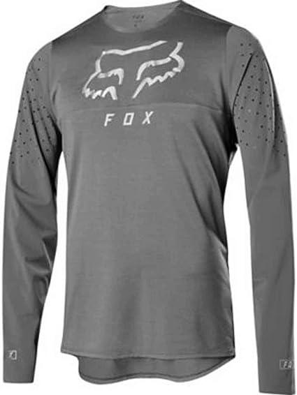 Fox Racing Ranger S//S à manches courtes en jersey gris vintage