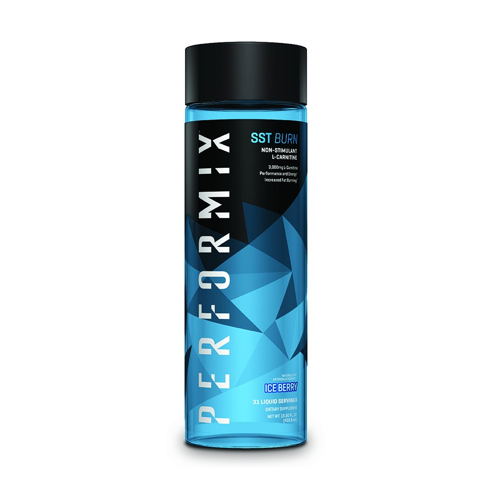 Performix SST Burn Non-Stimulant L-Carnitine, Ice Berry, 31 Servings by PERFORMIX