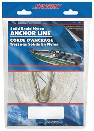 SeaSense Solid Braid Nylon Anchor Line, 3/8-Inch X 35-Foot (Seasense Anchor Rope)
