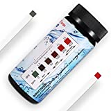 #1: Water Total Hardness Test Strips, 100 Tests, 0-425 mg/L, HoneForest hard water test kit for home water, pool, aquarium, etc