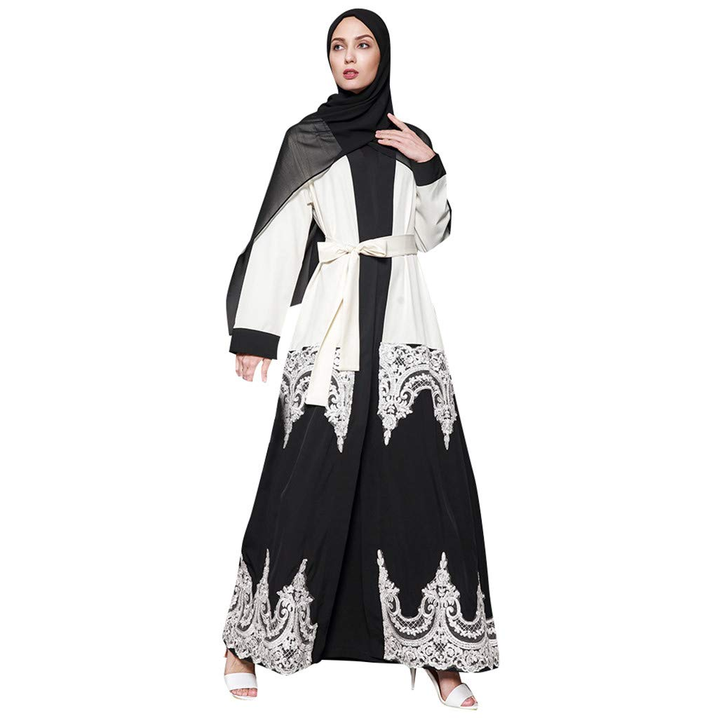 Dubai Abaya Ladies Embroidered Robe Velvet Kaftan Women Muslim Maxi Dress Jilbab