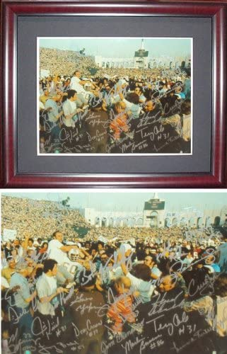 B008E6PO6M 1972 Miami Dolphins Team Signed PSA/DNA Framed Photo-11x14 51g0HyIY78L.