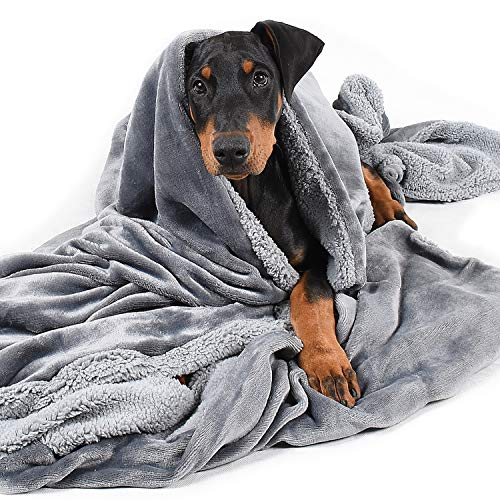 Dog Blanket,Super Soft Warm Fluffy Sherpa Fleece Plush Dog Blankets and Throws for Small Medium Large Dogs Puppy Doggy Pet Cats
