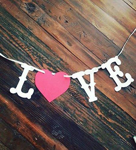 (Dorigan home series Love Banner Valentine'S Dayweddingsave The Date Banner Photo Prop)