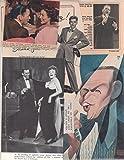 Frank Sinatra original clipping magazine photo lot #Q5470